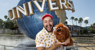 Tiago Abravanel curte o Universal Orlando