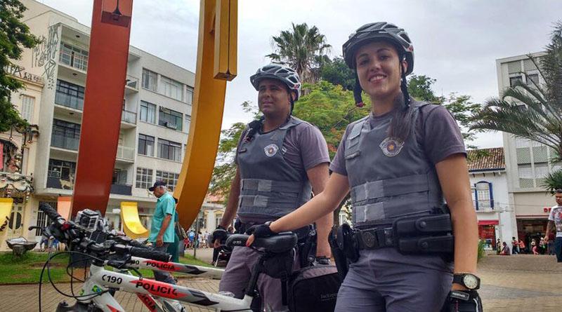 PM reforça policiamento no Centro