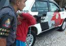 Menor flagrado por roubos na Vila Rami