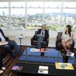 Luiz Fernando e Siemens tratam da contratação de menores
