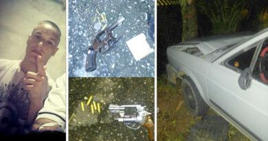 Bandido morre ao trocar tiros com a PM