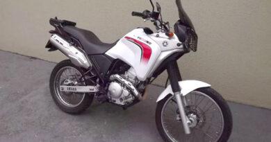 Moto Ténéré furtada em Cajamar
