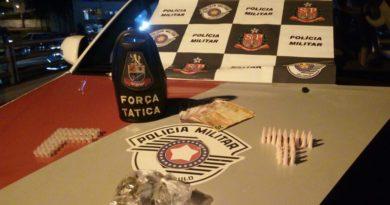 Força Tática apreende drogas no Varjão
