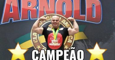 Marcos é o homem mais forte da América do Sul