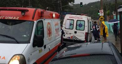 Ambulância de Várzea socorre motoboy em Jundiaí