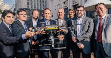 Prefeitura de SP usa drone para policiamento
