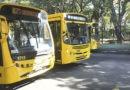 Ônibus circulam nesta segunda com horários dos domingos
