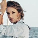 Alessandra Ambrosio faz campanha da Omega