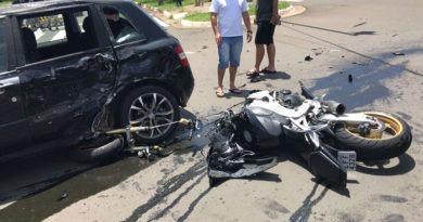 PM sofre acidente grave em Hortolândia