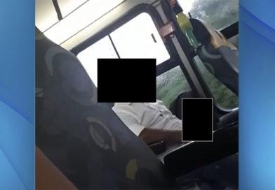 Jovem filma tarado dentro de ônibus urbano