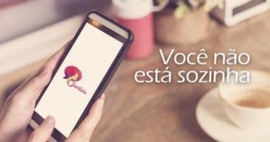Aplicativo ajuda mulheres vítimas de agressões