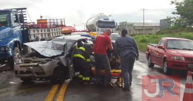 Duas pessoas ficam feridas em acidente em Itatiba