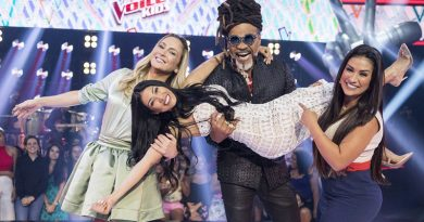 Times preenchidos para o The Voice Kids