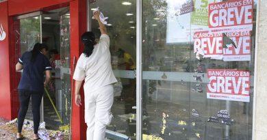 Bancários da Capital fazem greve nesta segunda-feira