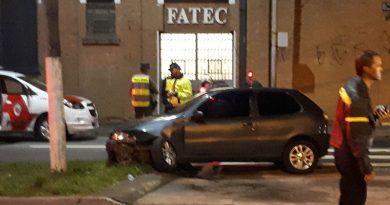 Motorista é preso depois de causar acidentes