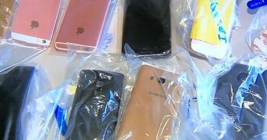 Polícia prende 25 pessoas com celulares roubados