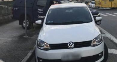 Guarda localiza carro dublê em Jundiaí