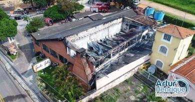 Incêndio em churrascaria não teve feridos