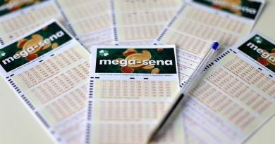 Duas apostam levam prêmio da Mega-Sena