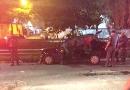 Duas pessoas ficam feridas em acidente na Vila Rami