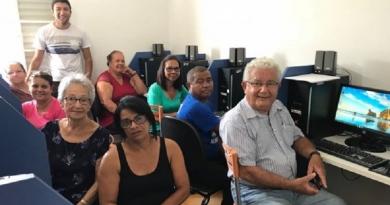'Cinquentões' aprovam curso de tecnologia do Fundo Social de Cabreúva