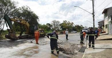 Mutirão atende áreas afetadas pelas chuvas em Jundiaí