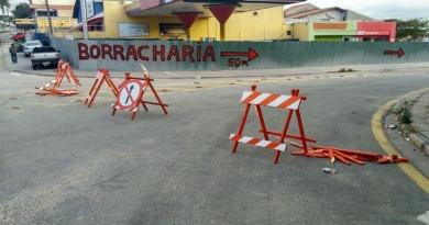 Obras nas ruas do Jardim América, em Campo Limpo, sofrem com vandalismo