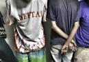 Guarda flagra três jovens no tráfico