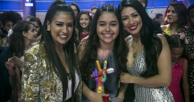 Eduarda Brasil é a grande campeã do The Voice Kids 2018
