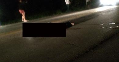 Motociclista morre em acidente em Várzea