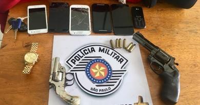 Polícia Militar prende quadrilha que pretendia roubar casas