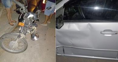 Jovem sofre acidente no Varjão