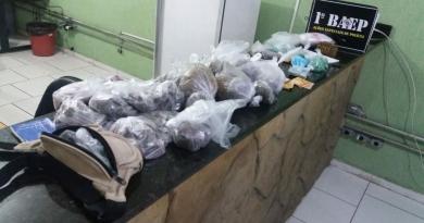 11° BPMI e BAEP apreendem drogas em Cabreúva