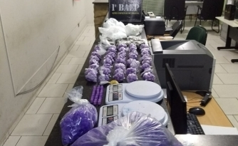 BAEP apreende grande quantidade de drogas em Cabreúva