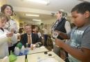 Experiências de alunos são apresentadas a executivos da Siemens