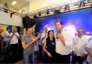 Luiz Fernando e Dória são recebidos por mais de 1,5 mil pessoas em Jundiaí