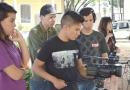 Jovens aprendem cinema em Jundiaí
