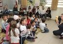 Pais assistem à aula e aprovam inglês na Educação Infantil