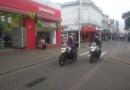Guarda usa motos novas no Centro