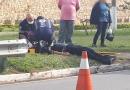 Motociclista sofre acidente na Vila Rami
