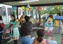 Atividades juninas levam pouco de alegria aos pacientes infantis do HU