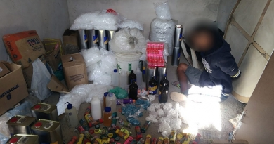 Guarda Municipal estoura laboratório de drogas no Tamoio