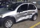 Comerciante é preso após acidente de trânsito