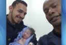 Menina nasce na ambulância