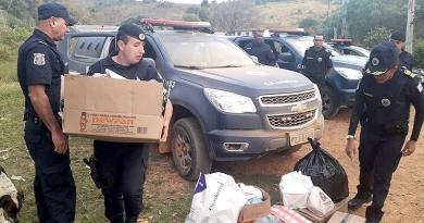GCM de Cajamar ajuda famílias necessitadas com doações