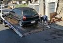 Trânsito de Cajamar remove veículos abandonados