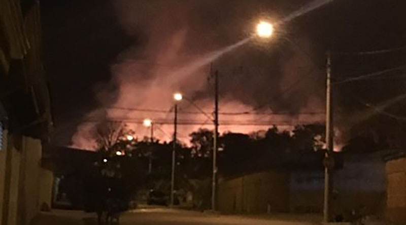 Incêndio assusta moradores de bairro de Jundiaí