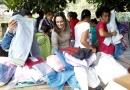 Itupeva: Presidente do FUNSS distribui agasalho na região do Quilombo