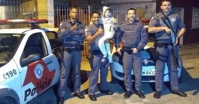 PMs salvam garoto que estava à beira da morte