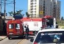 Acidente com van escolar deixa duas crianças feridas